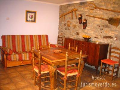 TURISMO VERDE HUESCA. Casa L´Apargatero de Morillo de Monclús.
